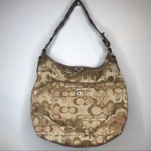 Coach Classic C Pattern Shoulder Bag